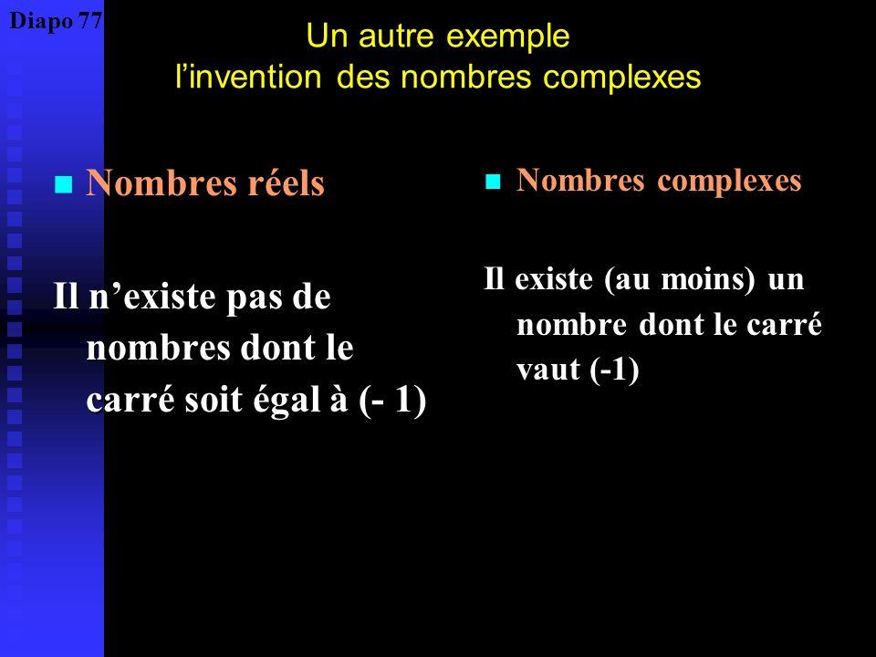 Problème logique : comment deux théories basées sur deux propositions contradictoires peuvent – elles coexister ? Construction par négation Soit E = {