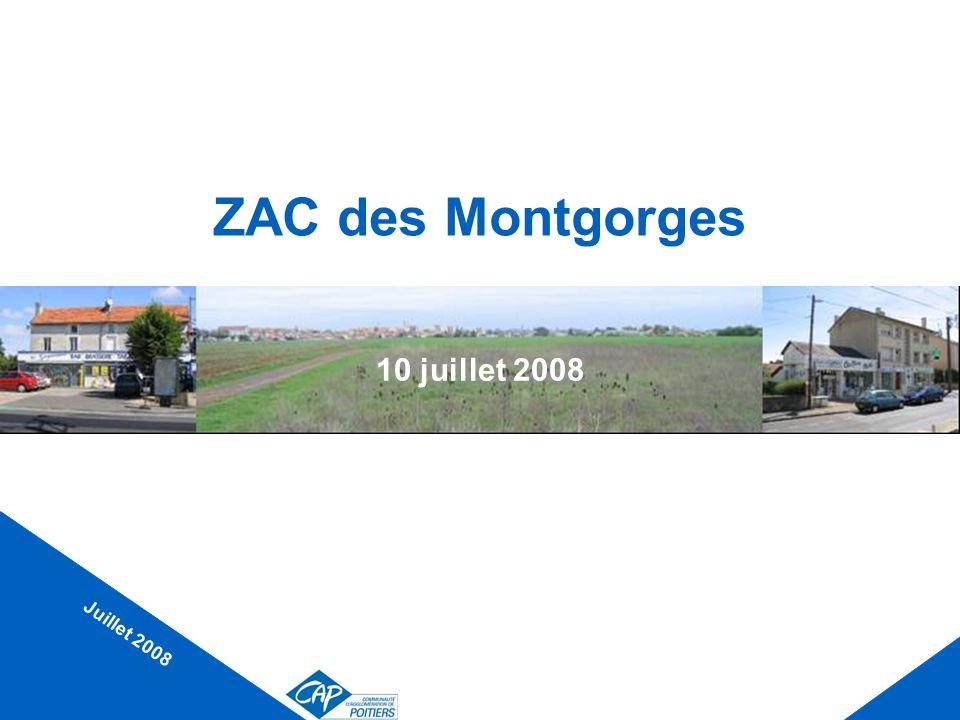 Rappel du programme La zone mesure environ 33 ha.2/3 habitat et 1/3 activités, en façade de RN10.
