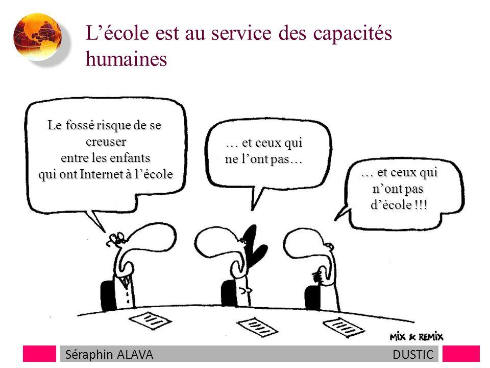 Lécole est au service des capacités humaines et doit servir à tous…..