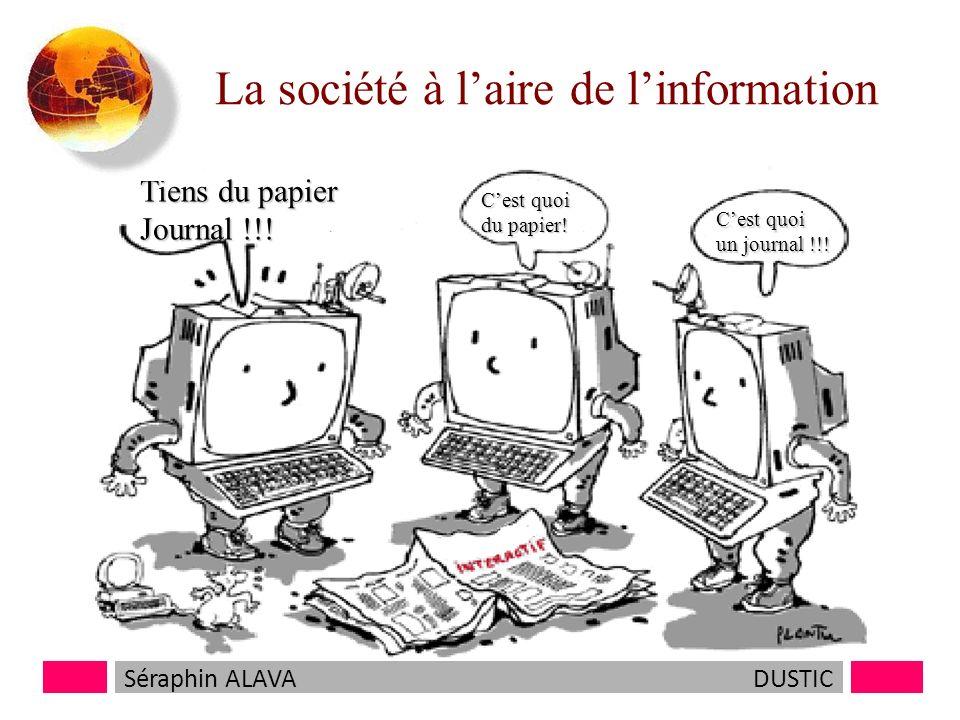 La société à laire de linformation Tiens du papier Journal !!.