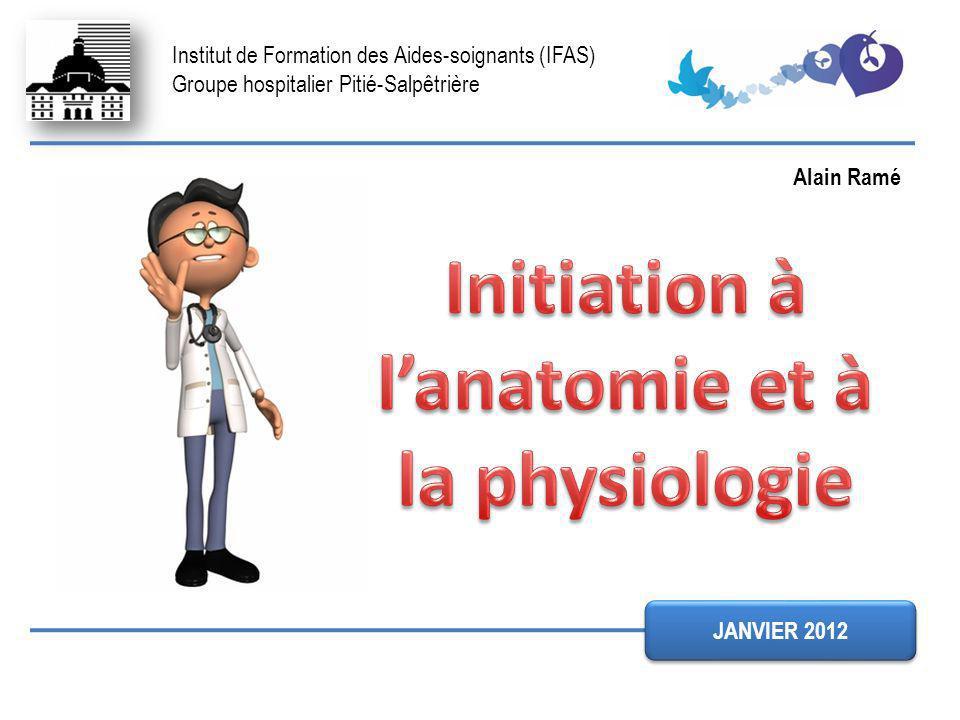 Institut de Formation des Aides-soignants (IFAS) Groupe hospitalier Pitié-Salpêtrière JANVIER 2012 Alain Ramé