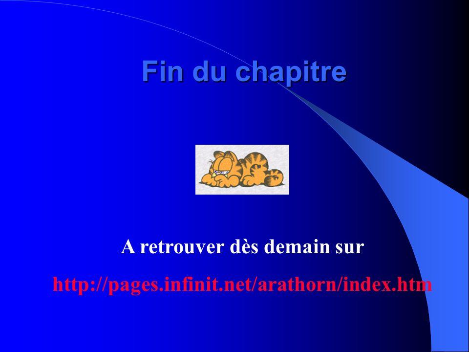 Fin du chapitre A retrouver dès demain sur http://pages.infinit.net/arathorn/index.htm
