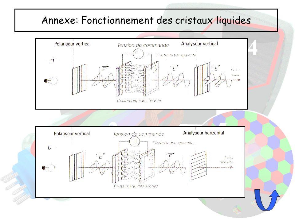 Annexe: Fonctionnement des cristaux liquides
