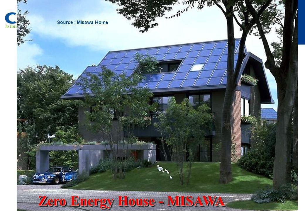 Zero Energy House - MISAWA Source : Misawa Home