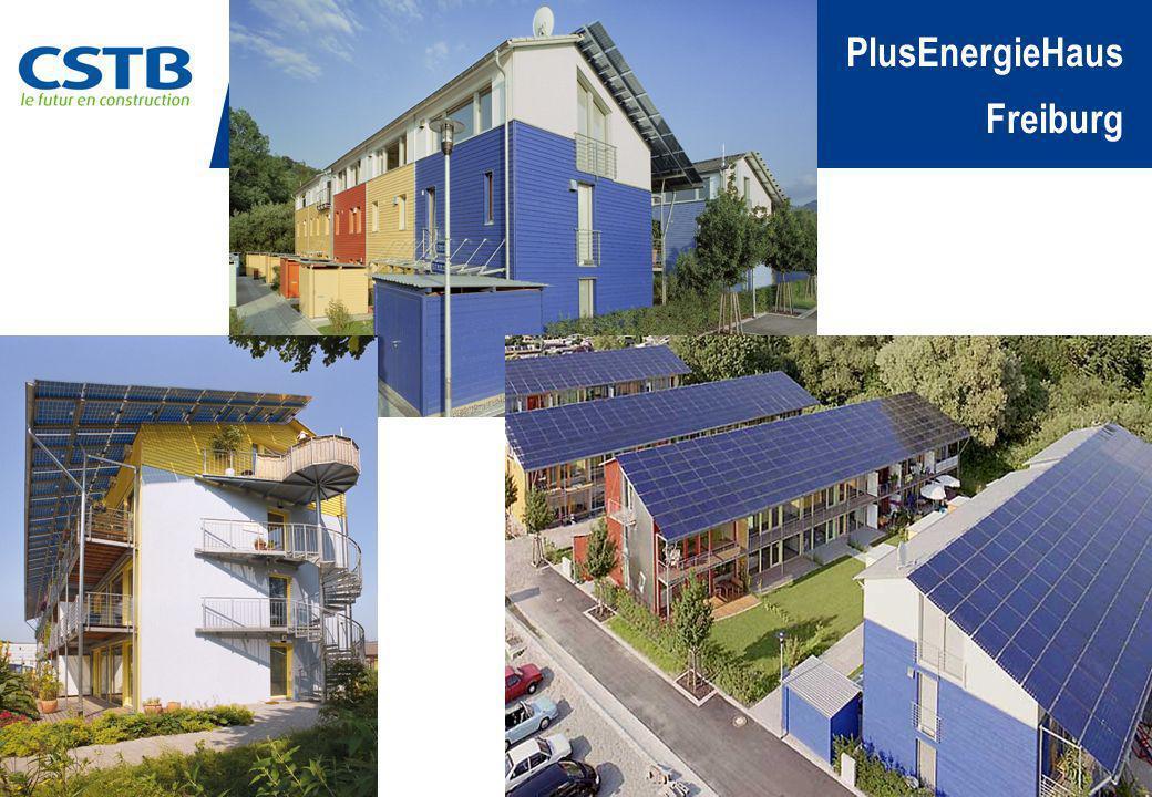 Passif – Energie Zéro Energie positive Projet VillePaysMur U W/m².K Toiture U W/m².K Fenêtre U W/m².K PV kW Sol.