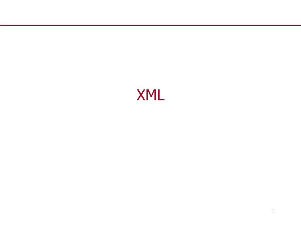 1 XML