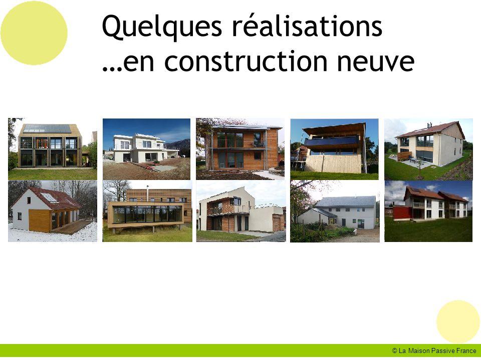 © La Maison Passive France Quelques réalisations …en construction neuve