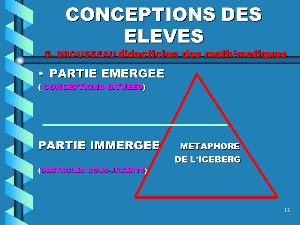 11 TRANSPOSITION DIDACTIQUE Y. CHEVALLARD didacticien des math é matiques SAVOIR SAVANT, PRATIQUES SOCIALES (pleines de savoirs savants ou communs), V