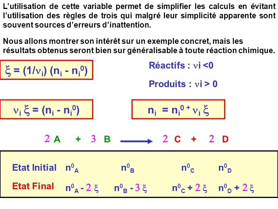 Cours de T.Briere40 Lutilisation de cette variable permet de simplifier les calculs en évitant lutilisation des règles de trois qui malgré leur simplicité apparente sont souvent sources derreurs dinattention.