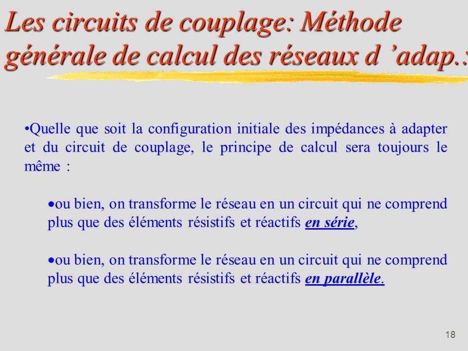 17 3.1. Méthode générale: IUT de Colmar - Département R&T - 2ième année.