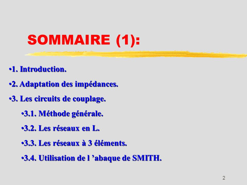 2 SOMMAIRE (1): 1.Introduction.1. Introduction. 2.