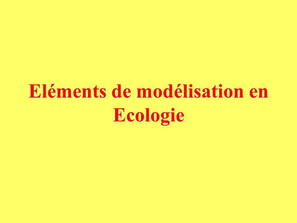 Système avec vers E* à léquilibre Condition pour que E*>0 Production primaire P*= Somme des entrées dans le compartiment B (biomasse végétale) Partie 2