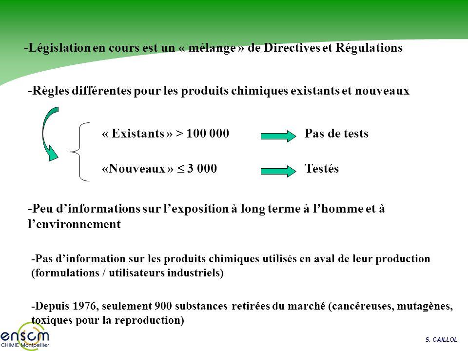 Dans la nature, en France, chaque année … 80 kt/an dhuile de vidange 2x Exxon Valdez 75 kt de pesticides …