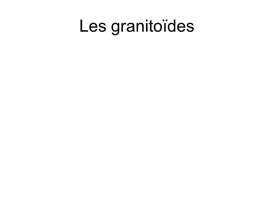 Les granitoïdes