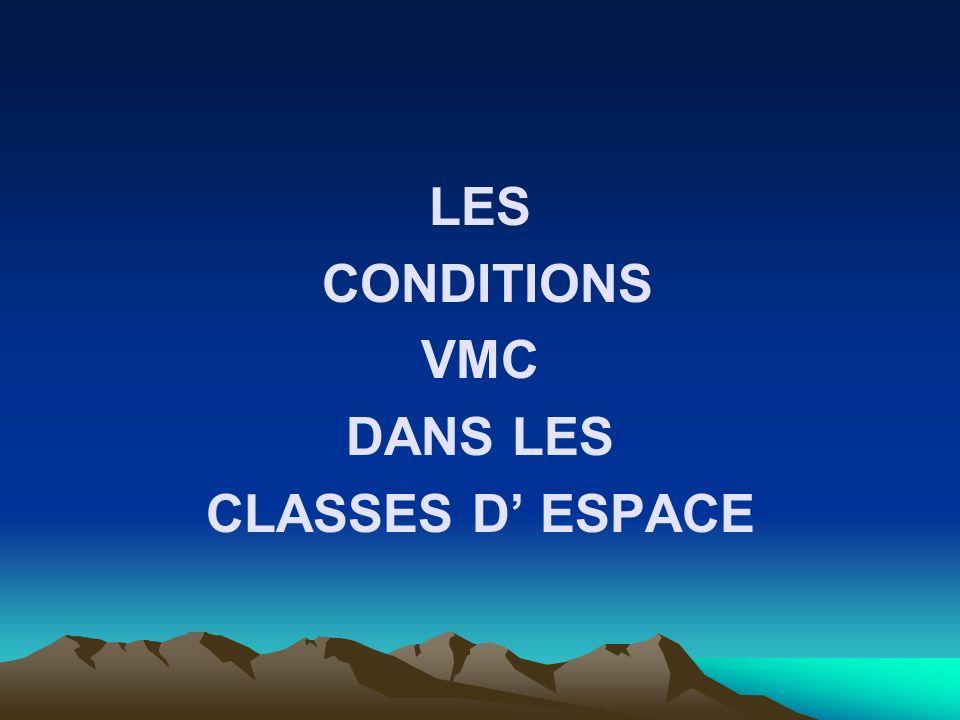 LES CONDITIONS VMC DANS LES CLASSES D ESPACE