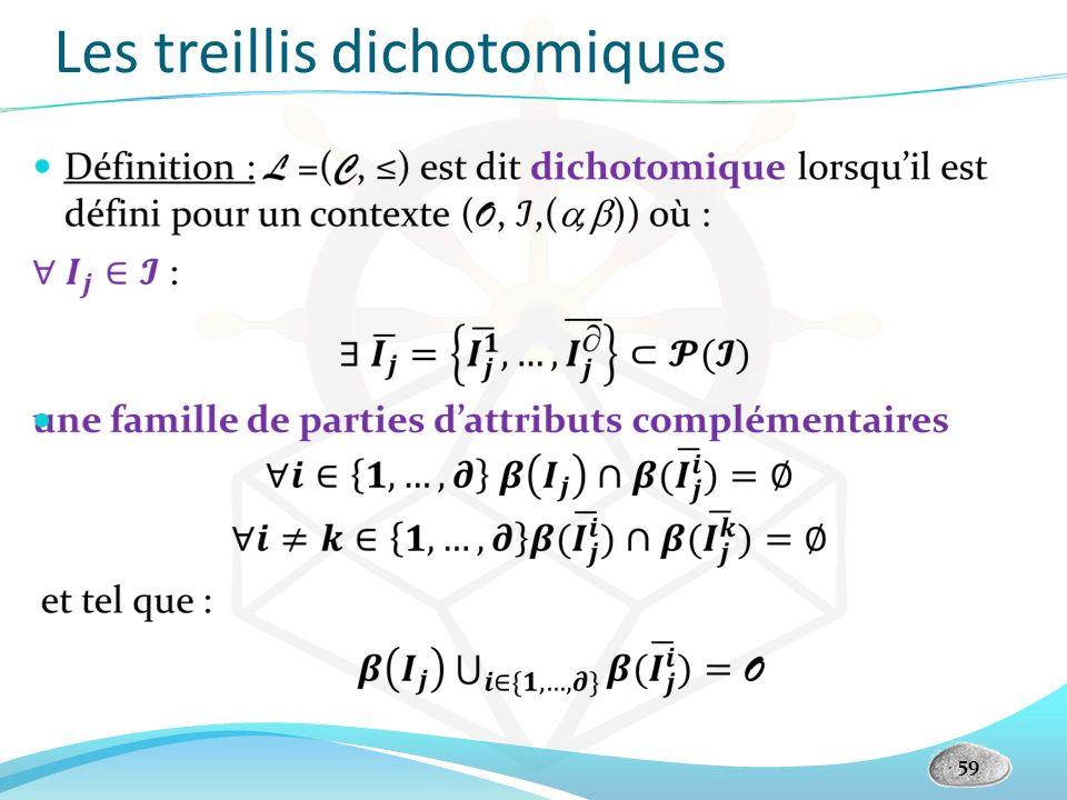 Les treillis dichotomiques 59