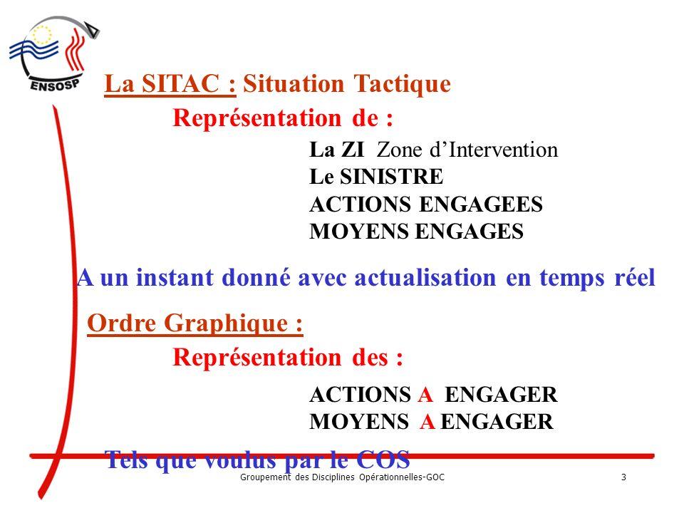 Groupement des Disciplines Opérationnelles-GOC2 Outils indispensables à la mise en œuvre dune Gestion Opérationnelle et de Commandement G.O.C organisé