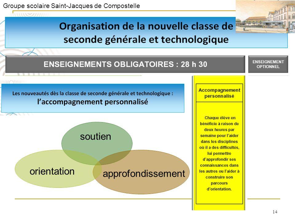 Groupe scolaire Saint-Jacques de Compostelle 14 soutien approfondissementorientation