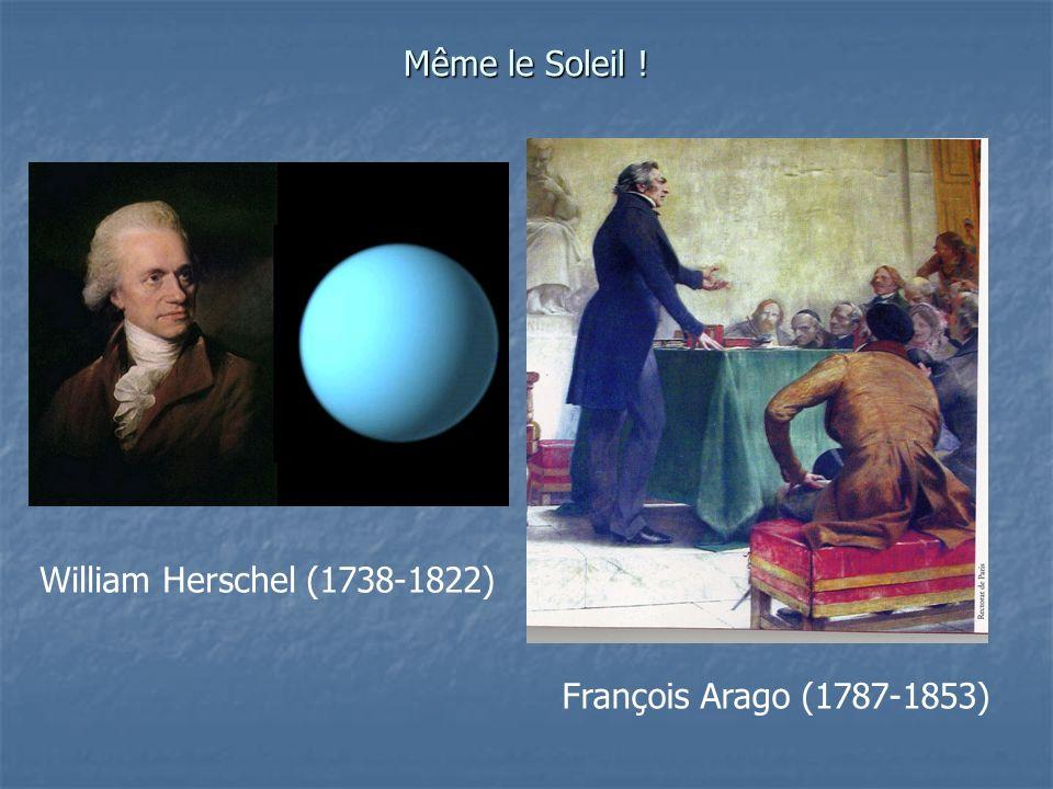 William Herschel (1738-1822) François Arago (1787-1853)