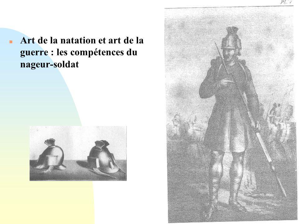 Passer à la première page n Art de la natation et art de la guerre : les compétences du nageur-soldat