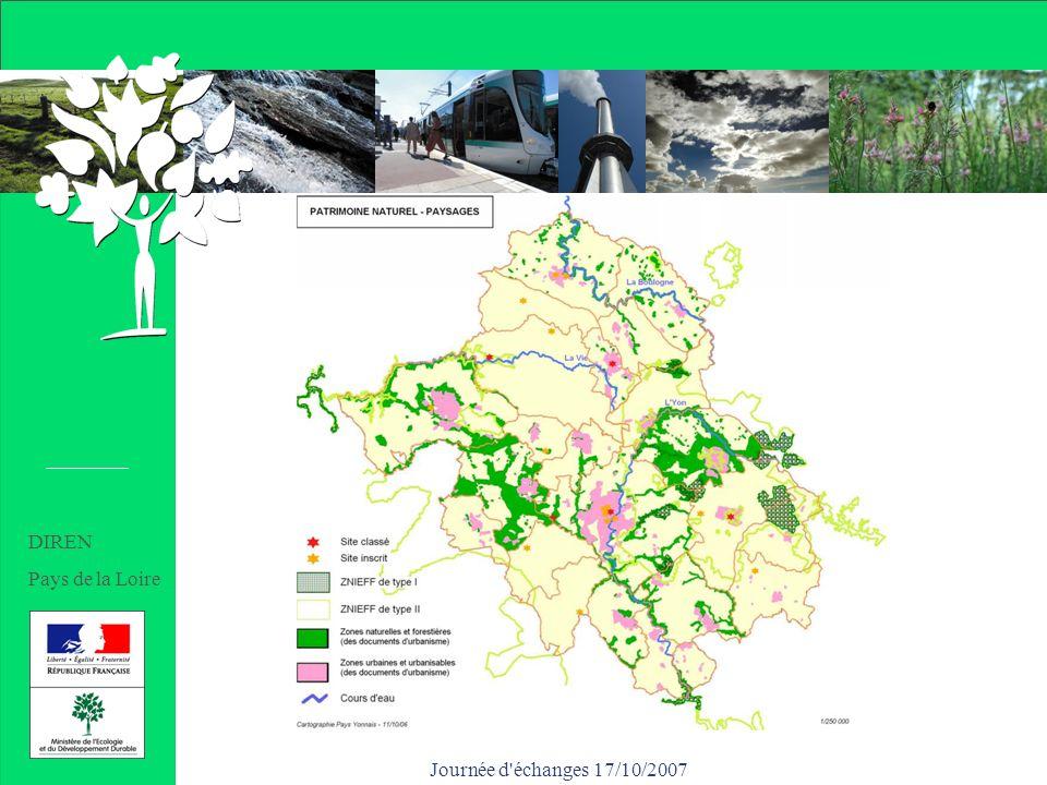 Journée d échanges 17/10/2007 DIREN Pays de la Loire