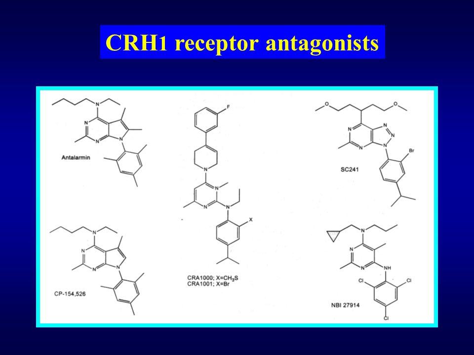 CRH 1 receptor antagonists