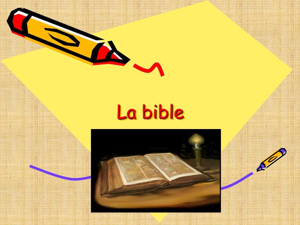 Quels sont les thèmes de la Bible.