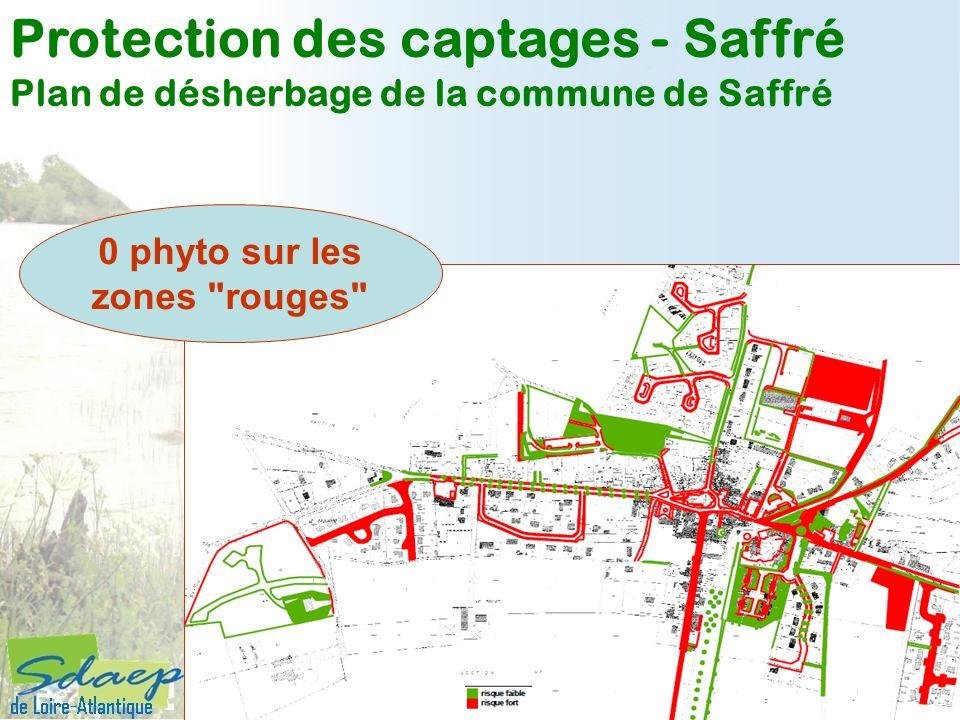 Protection des captages - Saffré Plan de désherbage de la commune de Saffré 0 phyto sur les zones