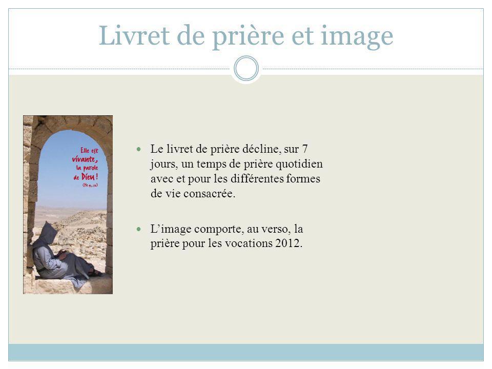 « Laventure humaine » Cette brochure, présentant la vie consacrée, est à destination des jeunes.