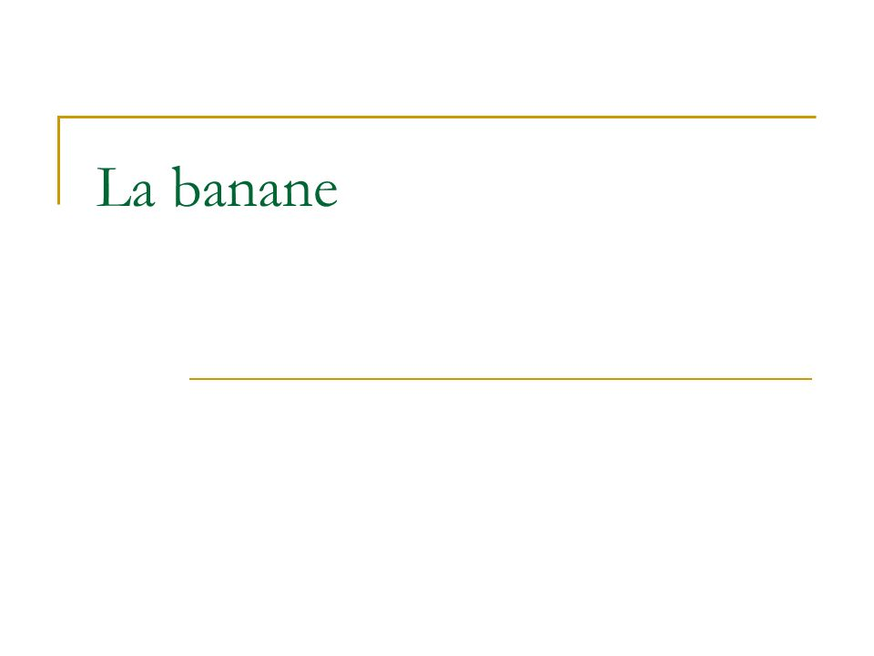 Origine Etymologie : mot bantou, Banana On la dabord appelée figue à la fois par recherche dun substitut commode pour un fruit exotique sans dénomination et par traduction du portugais de cette époque : figos dorta = figues de jardin ou figues dInde.