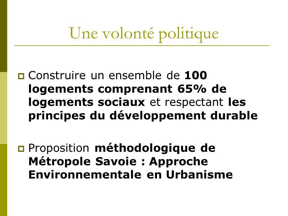 Sommaire de la présentation AEU La Commune Contexte du projet Particularités de lAEU Chronologie Cahier des charges
