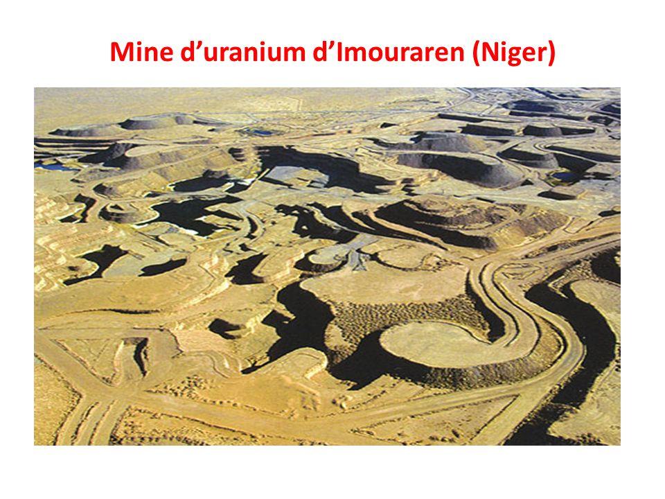 Mine duranium dImouraren (Niger)