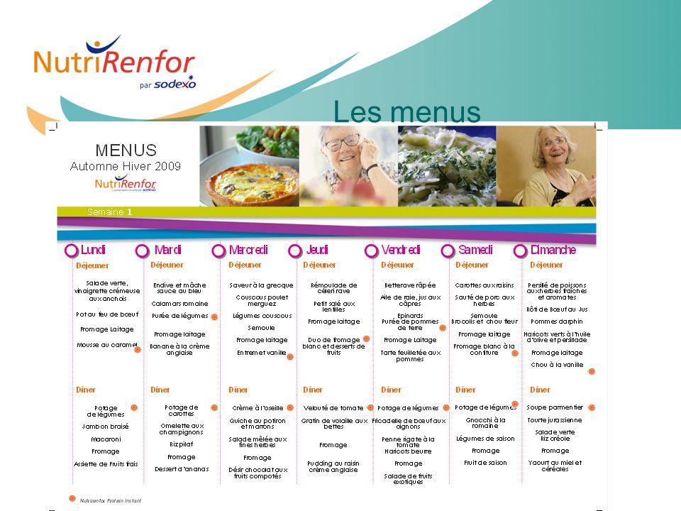 11e JIQHS22 Les menus