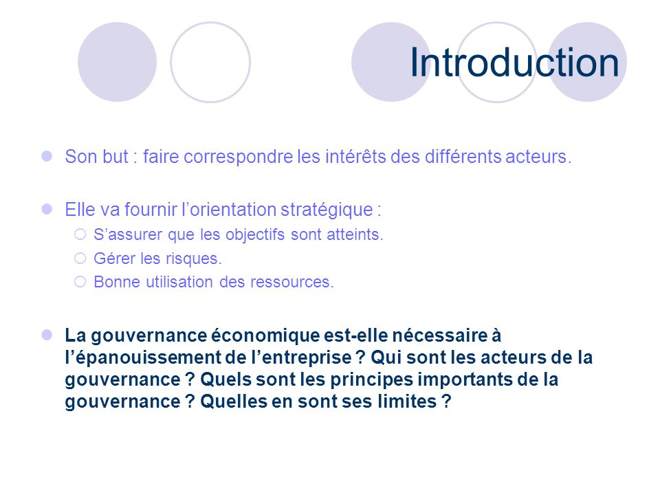 Plan Auteurs, traités et textes relatifs. Concepts. Limites. Exemple. Conclusion.