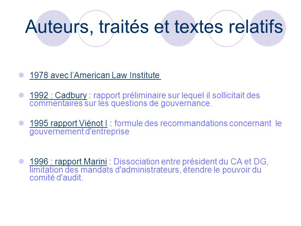Exemples Exemple de conflits : Antoine Zacharias, PDG du groupe Vinci Interview dun responsable de M.