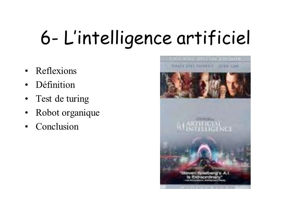 7- Quelle évolution pour le robot? Constat Le langage