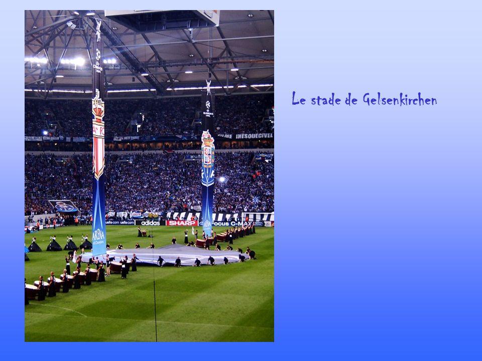 Le stade de Gelsenkirchen