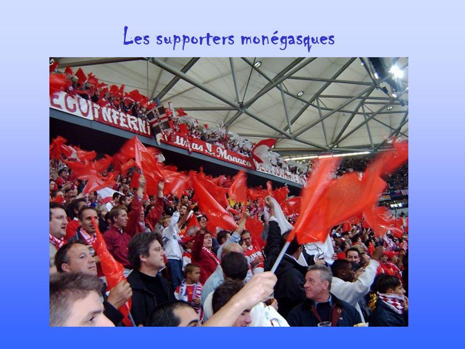 Les supporters monégasques