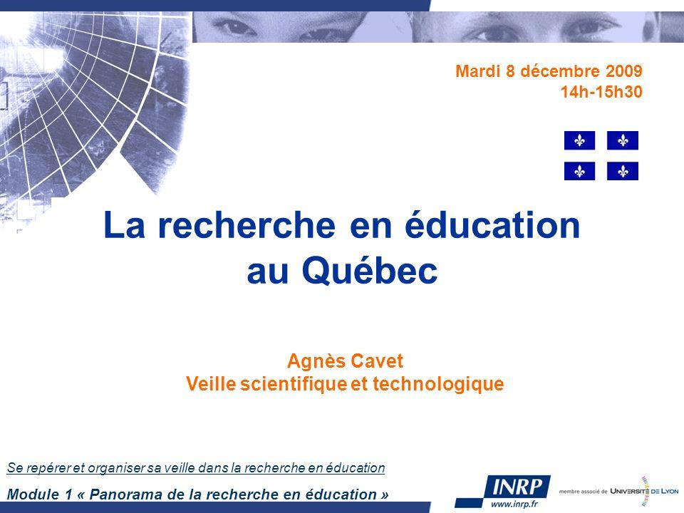 12 La recherche scientifique au Québec Recherche universitaire financée par contrats et subventions.