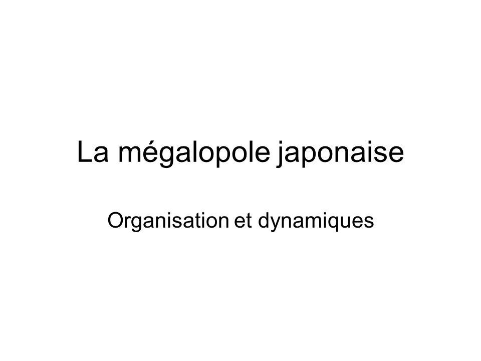 La mégalopole japonaise Organisation et dynamiques