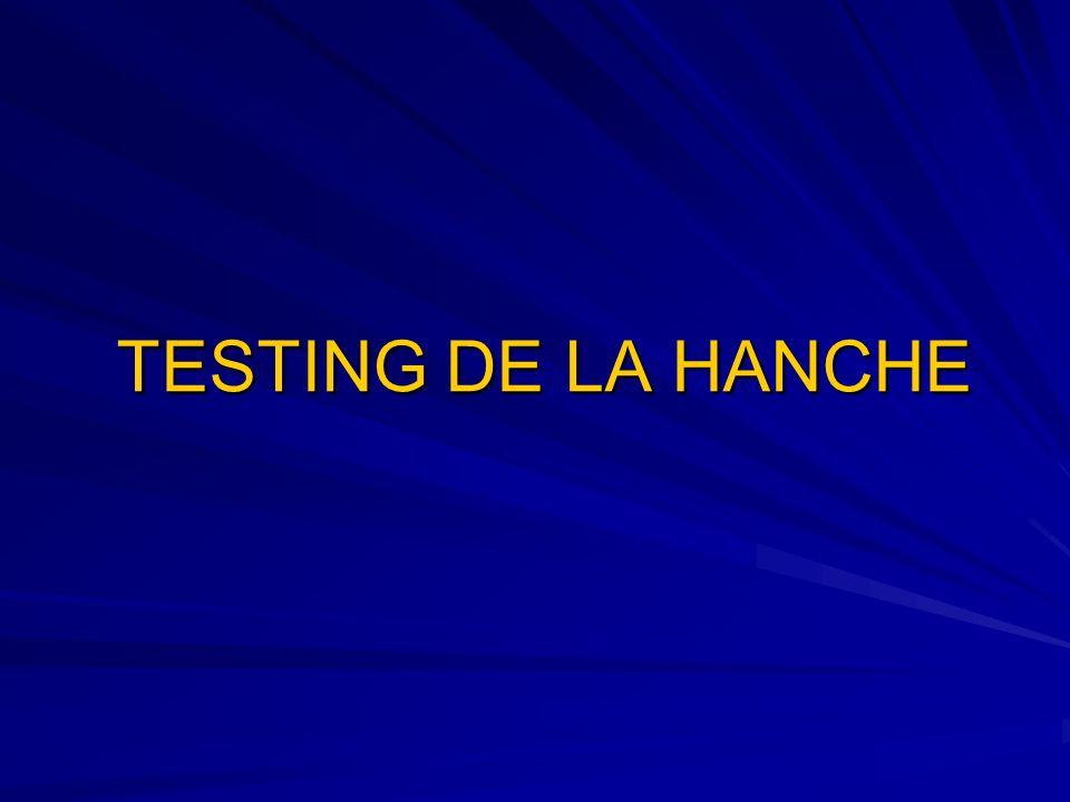 FLEXION DE HANCHE