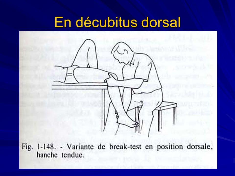En décubitus dorsal