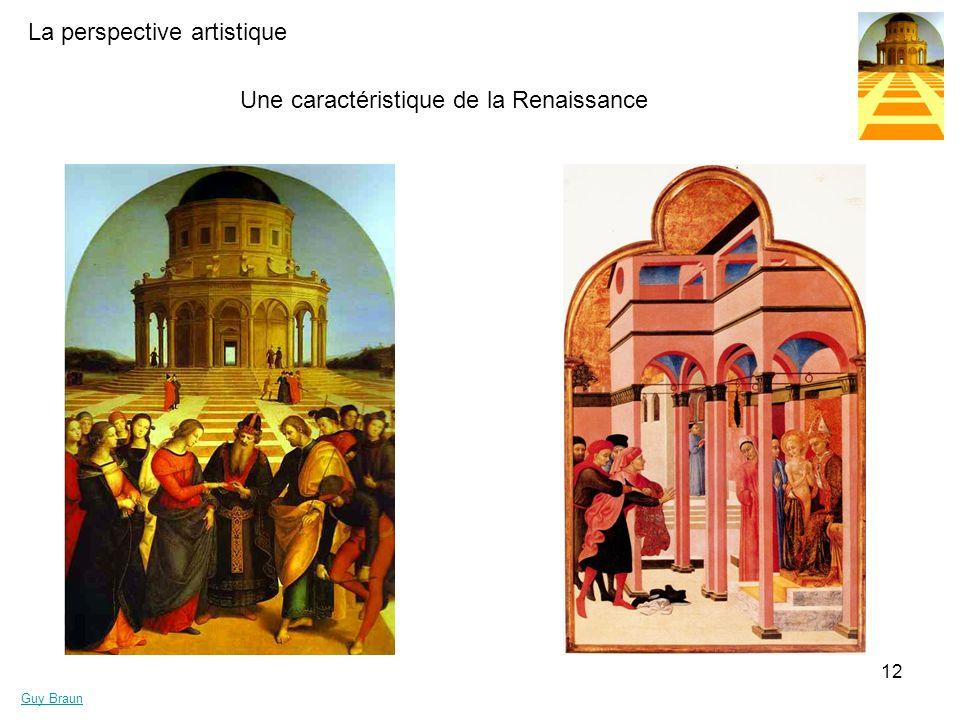 La perspective artistique Guy Braun 12 Une caractéristique de la Renaissance