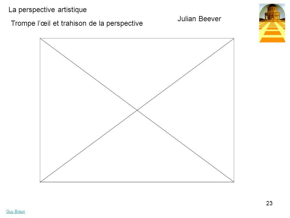 La perspective artistique Guy Braun 23 Trompe lœil et trahison de la perspective Julian Beever