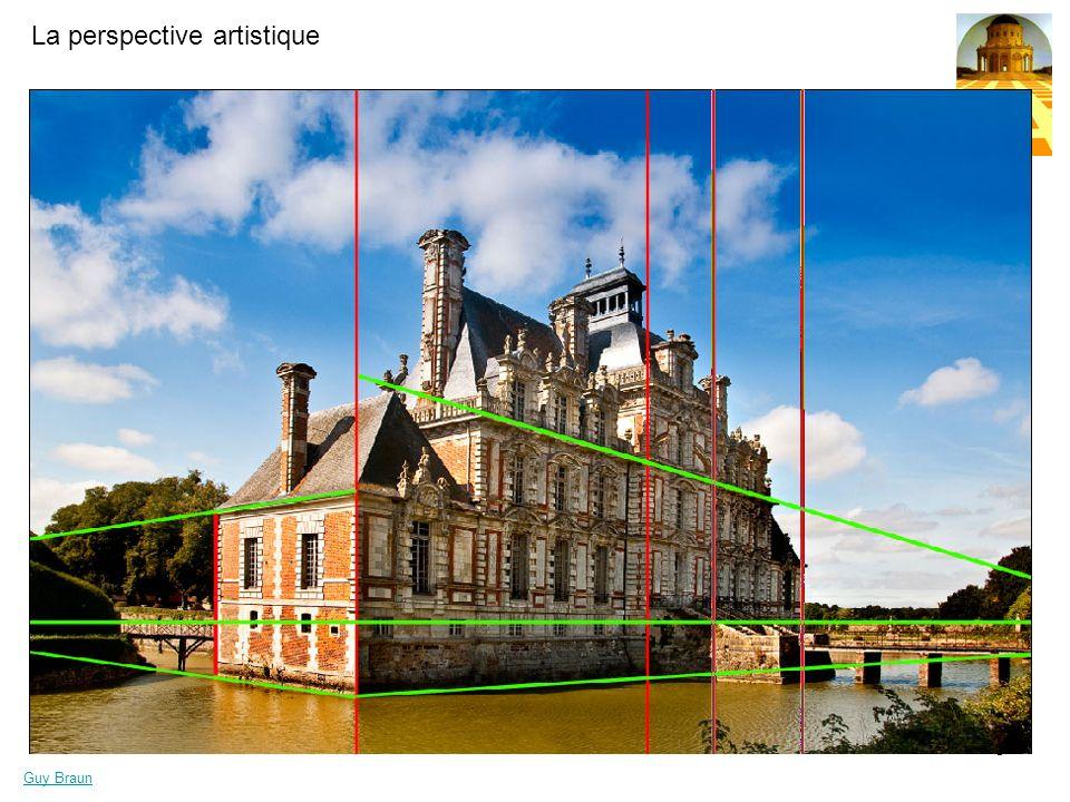 La perspective artistique Guy Braun 9 La perspectives des surfaces ( le jeu de damier )