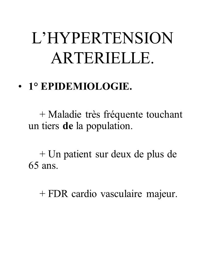 B)Physiopathologie.