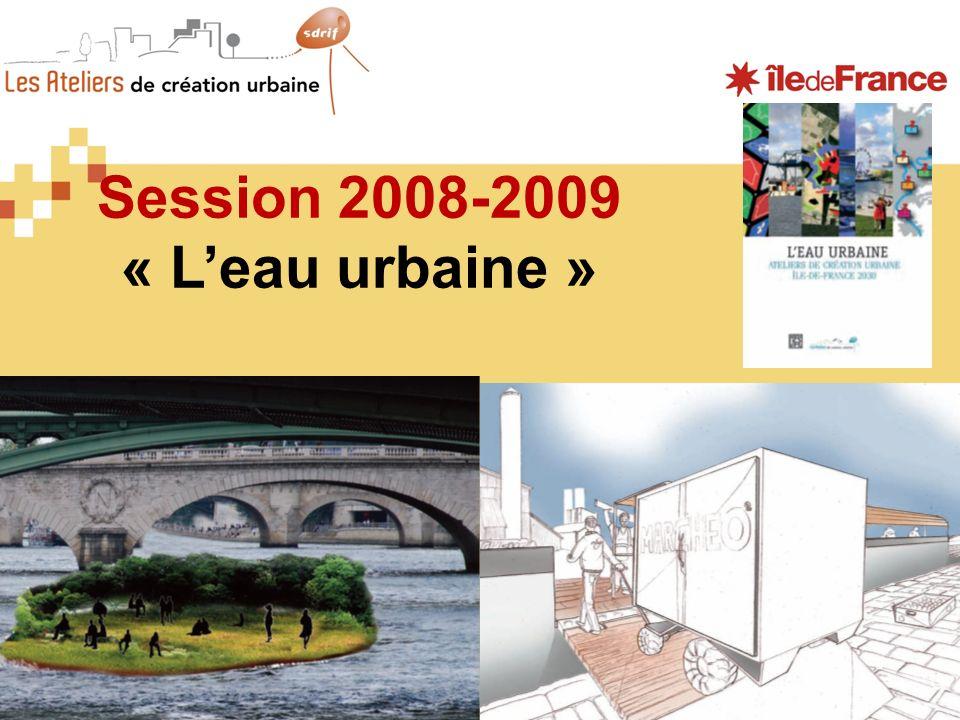 Session 2008-2009 « Leau urbaine »
