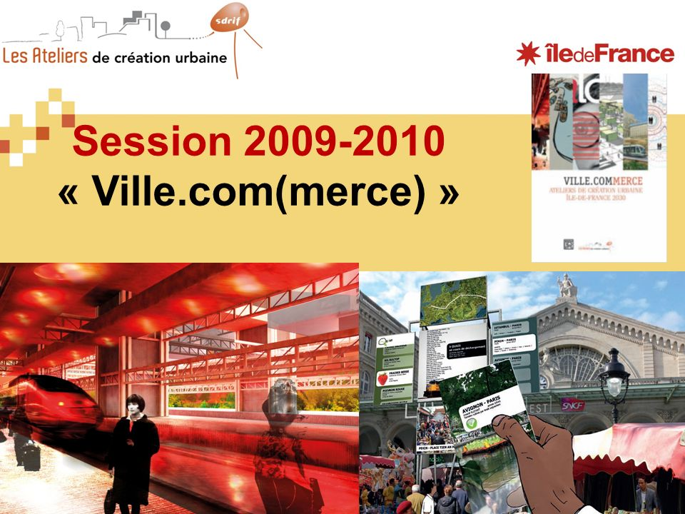 Session 2009-2010 « Ville.com(merce) »