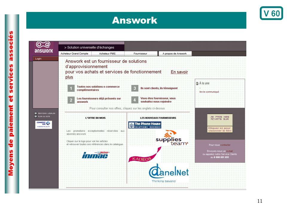 11 Moyens de paiement et services associés Answork V 60
