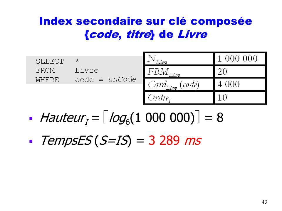 44 ORGANISATIONS HÉTÉROGÈNES Adapter les formules facteur de blocage doit tenir compte de la présence de plusieurs tables